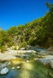 Idyllic valley Stock Images