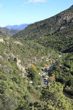 Idyllic valley on Corsica Island, France Royalty Free Stock Photos