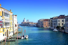 Idyllic Venice view Stock Images