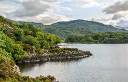 Idyllic view along the Ring of Kerry, Ireland royalty free stock photos