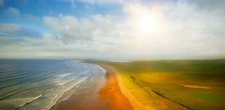 Idyllic view of beach Royalty Free Stock Image
