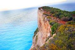 Idyllic view of beautiful Navagio Beach on Zakynthos Island Stock Photography