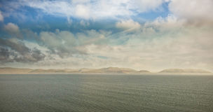 Idyllic view of sea. Against sky Stock Images