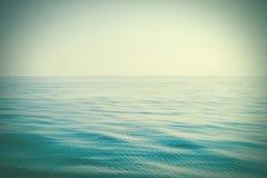 Idyllic view of sea and sky Stock Photo