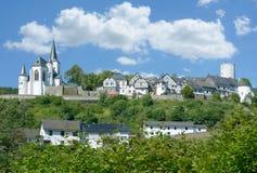 Reifferscheid,Eifel,North Rhine westphalia,Germany. Idyllic Village of Reifferscheid in Eifel,North Rhine westphalia,Germany royalty free stock image