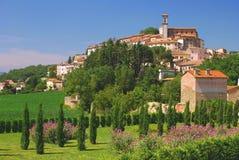 Idyllic Village, Umbria stock images