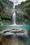 Idyllic waterfall Stock Image