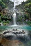 Idyllic waterfall Stock Image