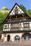 idyllic Wine Village of Kaysersberg in Alsace Stock Image