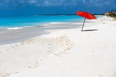Idylliczna plaża przy Karaiby Obrazy Royalty Free