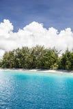 Idylliczna plaża 1 Obraz Stock