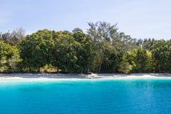 Idylliczna plaża 2 Zdjęcia Royalty Free