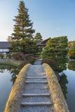 Idylliczny japończyka ogród obrazy stock