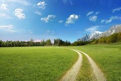 Idylliczny krajobraz zdjęcie stock