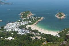 Idylliczny krajobraz Hong Kong fotografia stock