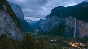 Idylliczny krajobraz w Szwajcaria zdjęcia royalty free