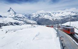 Idylliczny krajobraz w Szwajcaria fotografia stock