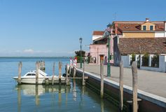 Idylliczny krajobraz w Wenecja fotografia stock