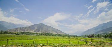 idylliczny krajobrazu zdjęcie royalty free
