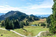 Idylliczny miejsce w górach fotografia stock
