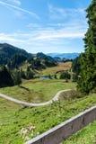 Idylliczny miejsce w górach zdjęcie royalty free