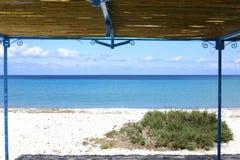 Idylliczny nadmorski na Sardinia wyspie, Włochy zdjęcie stock