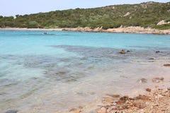 Idylliczny nadmorski na Sardinia wyspie, Włochy zdjęcie royalty free