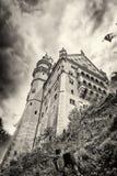 Idylliczny Neuschwanstein kasztel fotografia royalty free