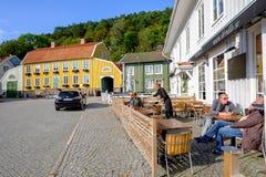 Idylliczny Szwecja przy wiosną obrazy royalty free