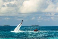 Idylliczny tropikalny plaża krajobraz dla tła lub tapety Projekt turystyka dla wakacje miejsca przeznaczenia wakacyjnego pojęcia Zdjęcia Royalty Free
