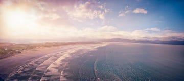 Idylliczny widok seascape fotografia stock