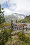 Idylliczny wysokogórski krajobraz przy Austria Zdjęcia Stock
