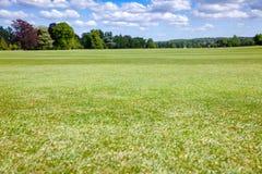 Idyllicznych anglików parkowy gazon Południowy Anglia UK Obrazy Royalty Free