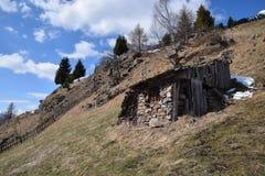 Idyllisch Berglandschap royalty-vrije stock afbeeldingen
