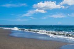 Idyllisch strand in paradijs Stock Fotografie