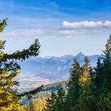 Idyllische Herbstlandschaft in den Alpen Stockbilder