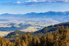 Idyllische Herbstlandschaft in den Alpen Lizenzfreie Stockbilder