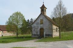 Idyllische kleine kapel Stock Foto