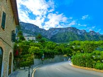 Idyllische Landschaft auf Palma de Mallorca, Spanien Stockbilder