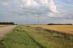 Idyllische Landschaft in Manitoba, Kanada Lizenzfreie Stockbilder