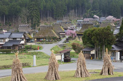 Idyllische Landschaft von Kyoto, Japan Stockfotografie