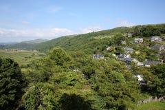 Idyllische Landschaft in Wales, Großbritannien Stockfoto