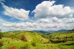 Idyllische Landschaftansicht Lizenzfreie Stockfotos