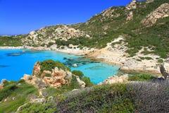 Idyllischer Meerblick, Sardinien stockfoto