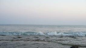 Idyllischer Meerblick von Mittelmeer stock video footage