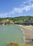 Idyllischer Platz auf Elba-Insel lizenzfreies stockbild