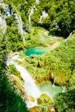 Idyllischer Platz im Nationalpark in Kroatien Lizenzfreies Stockbild