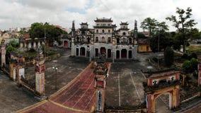 Idyllisk forntida skönhet av templet arkivbild