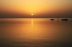 idyllisk sikt för rött hav Fotografering för Bildbyråer