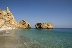 idyllisk strand Royaltyfri Foto